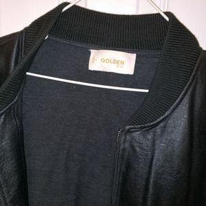 """Aritzia Jackets & Coats - Golden by TNA """"BAILER"""" Coated Bomber Track Jacket"""